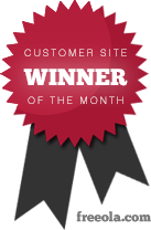 Freeola Customer Site Award Winner! - Click here for more.