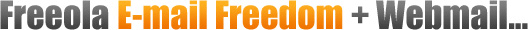 Freeola E-mail Freedom + Web Mail