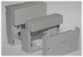 The iPlate fits into the master socket