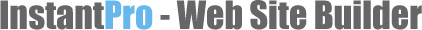 InstantPro - Web Site Builder