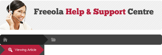 Freeola Help & Support Centre