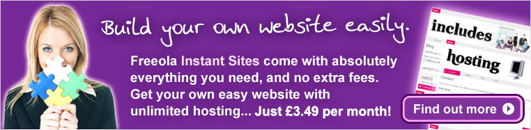 Easy Instant Sites! Find out more...