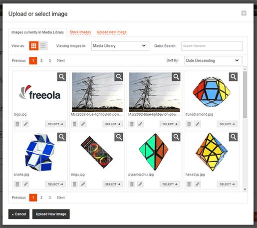 Select Image Window