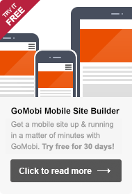 GoMobi Website Builder - Try it for free!
