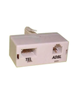 ADSL Microfilter (Twin pack)