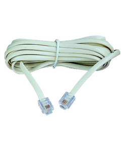 Broadband (ADSL) Extension Lead - 5 Metres
