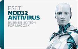 NOD32 Antivirus Business for Mac - 10 Computers / 1 Year License