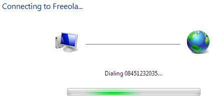 Win7 Dialling
