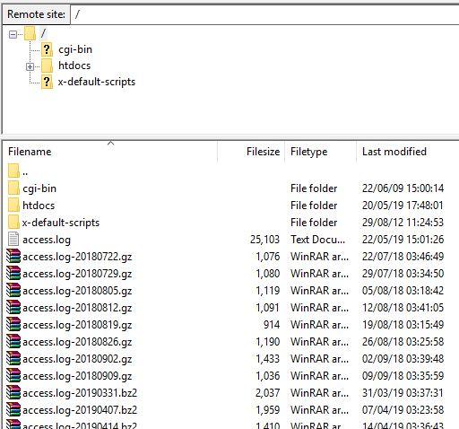 Filezilla Remove Site