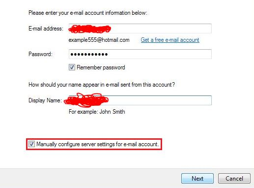 Account Information Live Mail