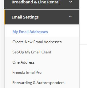 MyFreeola Email Addresses