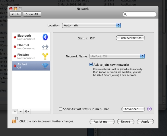 OSX Networks