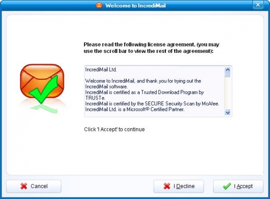 Incredimail 2 License Agreement