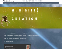 Screenshot of the Art71 homepage