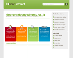 Screenshot of the First Search Consultancy LTD homepage