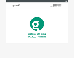 Screenshot of the Grafika Ltd homepage