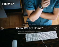 Screenshot of the Home Design and Marketing Limited homepage