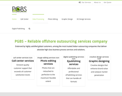 Screenshot of the Proglobalbusinesssolutions homepage