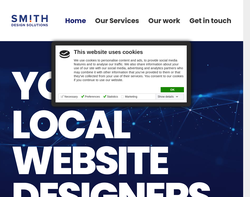 Screenshot of the Smith Design Solutions Limited homepage