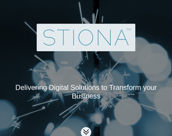 Screenshot of the Stiona Software - Business Software Solutions homepage