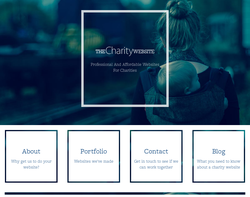 Screenshot of the Nathan Edwards (thecharitywebsite) homepage
