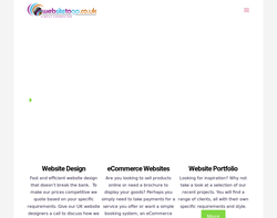 Screenshot of the Websitetogo.co.uk | Ellesmere Port homepage
