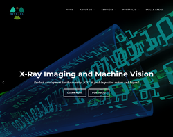 Screenshot of the Wye Valley Associates Ltd. (WyeTec) homepage