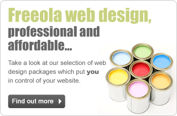 Freeola Web Design