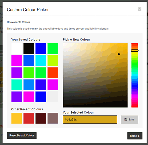 Colour Picker