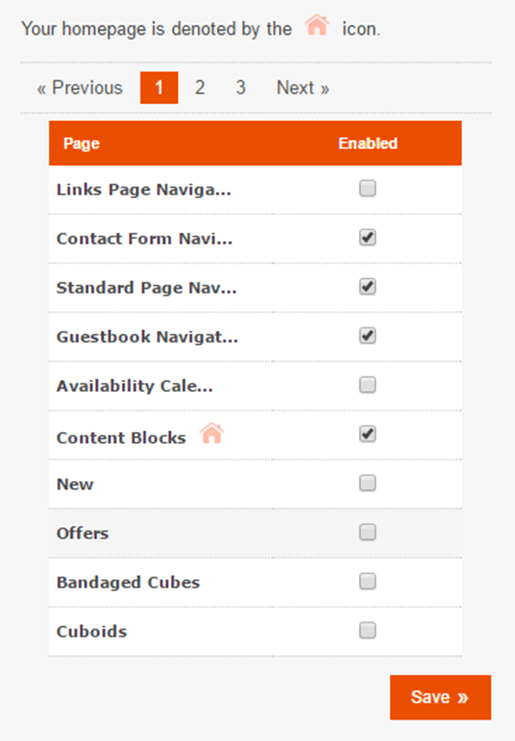 Enable Pages