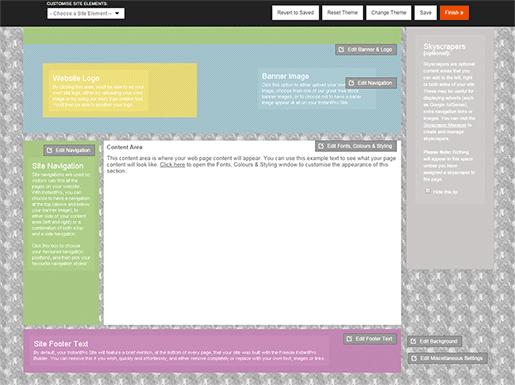 Custom Background Example