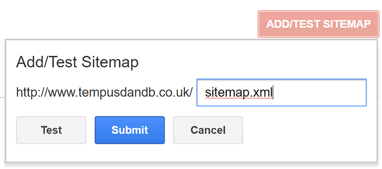 Submitting Your XML Sitemap To Google