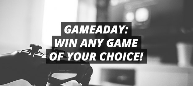 gameaday: win any game of your choice!