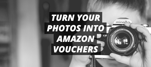 turn your photos into amazon vouchers